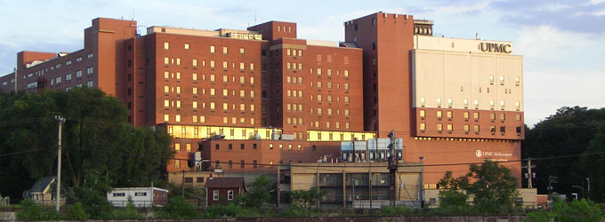 UPMC McKeesport hospital (photo © Tube City Online)